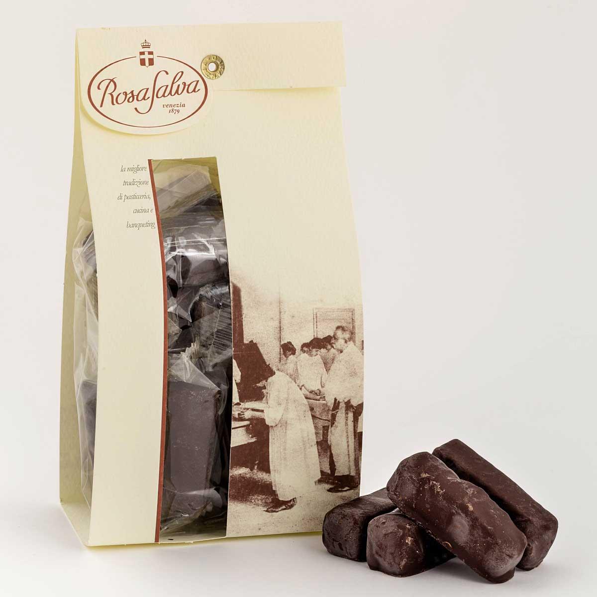 Torroncini nocciolotti al cioccolato