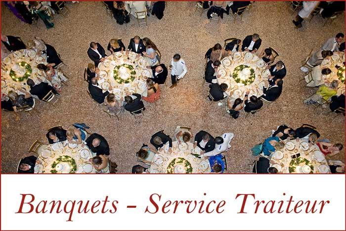 Banquets - Service Traiteur