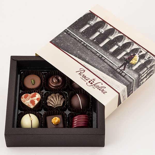 Il cioccolato e la pralineria