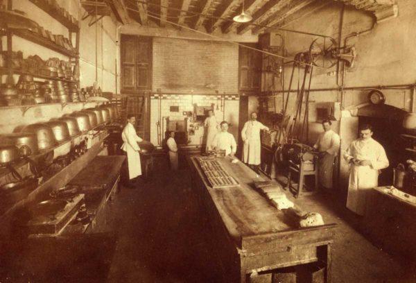 Il vecchio laboratorio