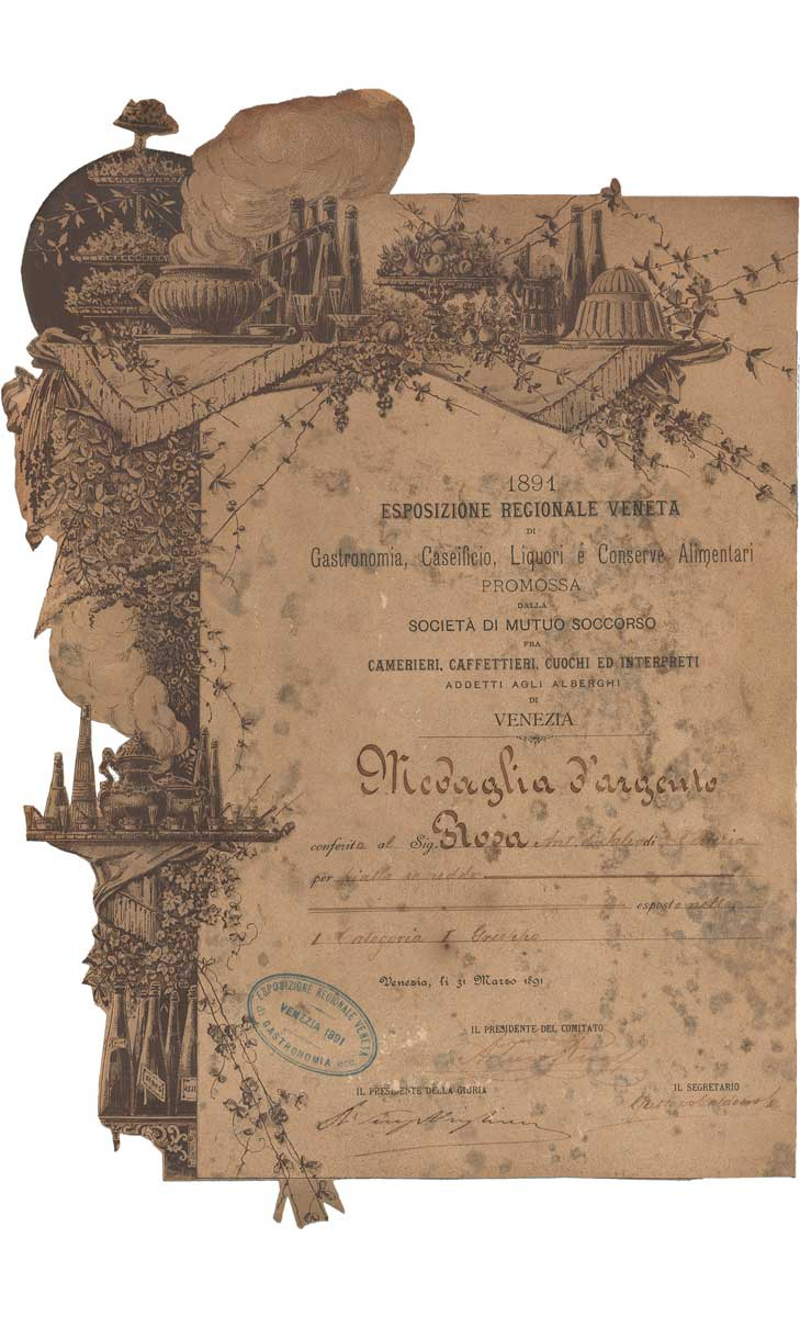 Medaglia d'Argento - Esposizione Regionale Veneta