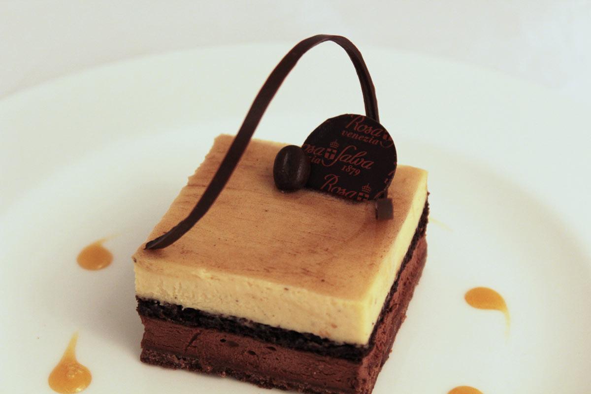 Cioccolato e caffé in tre consistenze