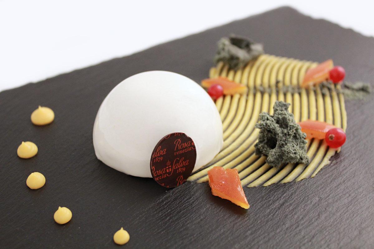 Mousse di cioccolato bianco